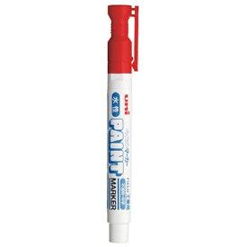 三菱鉛筆 MITSUBISHI PENCIL 水性ペイントマーカー中字 赤 PXW2005M.15