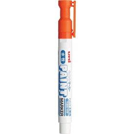 三菱鉛筆 MITSUBISHI PENCIL 水性ペイントマーカー中字 橙 PXW2005M.4