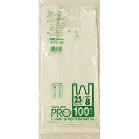 日本サニパック SANIPAK Y-1Hレジ袋乳白8/25号 Y1HW (1袋100枚)【rb_pcp】