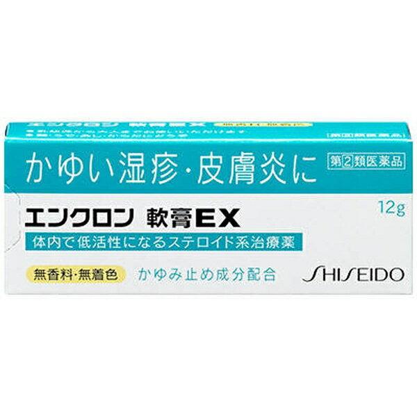 【第(2)類医薬品】 エンクロン軟膏EX(12g)★セルフメディケーション税制対象商品資生堂薬品 SHISEIDO