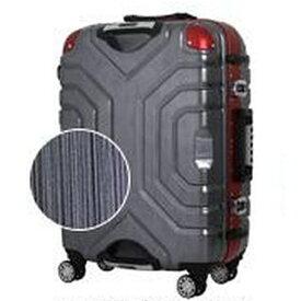 エスケープ ESCAPE TSAロック搭載スーツケース(52L) B5225T-58 ヘアラインブラック/レッド
