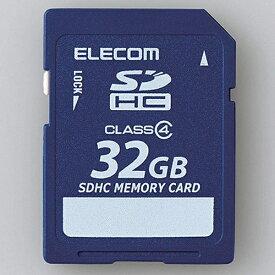 エレコム ELECOM SDHCカード MF-FSDC4Rシリーズ MF-FSD032GC4R [32GB /Class4][MFFSD032GC4R]