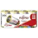 富士通 FUJITSU LR20FP-4S 単1電池 Premium(プレミアム) [4本 /アルカリ][LR20FP4S]