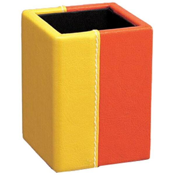 パール メガネスタンド スクエア・ツートンB(オレンジ)※このページは「オレンジ」のみの販売です。