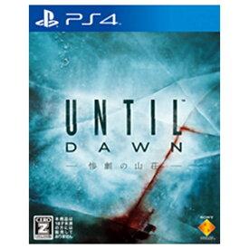 ソニーインタラクティブエンタテインメント Sony Interactive Entertainmen Until Dawn - 惨劇の山荘 -【PS4ゲームソフト】
