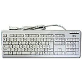 富士通 FUJITSU FMV-KB336 キーボード マーブルグレー [USB /コード ][FMVKB336]