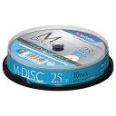 三菱化学メディア 1-4倍速対応 データ用Blu-ray BD-Rメディア[M-DISC] (25GB・10枚) VBR130YMDP10SV1