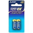 三菱 Mitsubishi Electric LR1EXD/2BP 単5電池 アルカリEX [2本 /アルカリ][LR1EXD2BP]