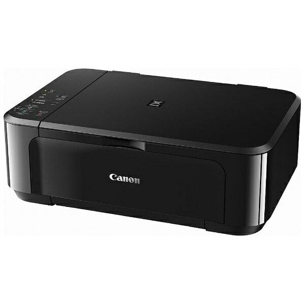 【送料無料】 キヤノン CANON A4インクジェット複合機[USB2.0/無線LAN] PIXUS MG3630BK (ブラック)[PIXUSMG3630BK]
