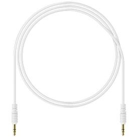 RUNUP ラナップ 3.5miniステレオケーブル(ホワイト/1.2m) SSN12PPWH