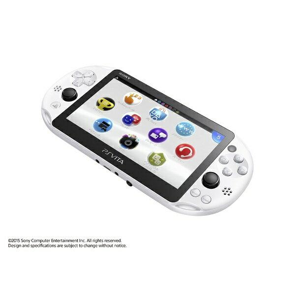 【送料無料】 ソニーインタラクティブエンタテインメント PlayStation Vita (プレイステーション・ヴィータ) Wi-Fiモデル PCH-2000 グレイシャー・ホワイト [ゲーム機本体]