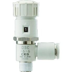 CKD シーケーディ ダイヤル付スピードコントローラ DSC86