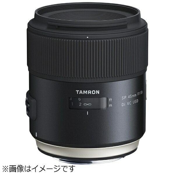 タムロン TAMRON カメラレンズ SP 45mm F/1.8 Di VC USD Model F013【キヤノンEFマウント】[F013E]