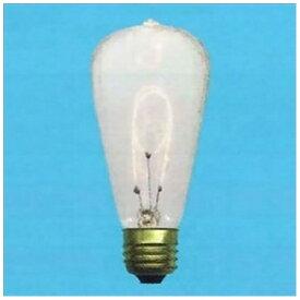 旭光電機 ASAHI LAMP S60/E26/110V-40W-C 電球 エジソン球 [E26][S60E26110V40WC]