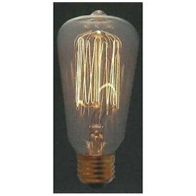 旭光電機 ASAHI LAMP S60-E26-110V-60W 電球 レトロランプ [E26][レトロランプS60E26110V60W]