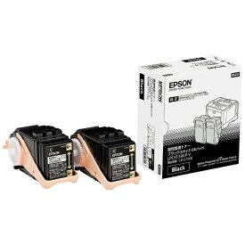 エプソン EPSON 【純正】環境推進トナー(ブラック・2本パック Mサイズ) LPC3T33KPV[LPC3T33KPV]