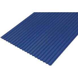アイリスオーヤマ IRIS OHYAMA 硬質塩ビ波板 6尺 ナチュラルブルー NIPVC608BL 【メーカー直送・代金引換不可・時間指定・返品不可】