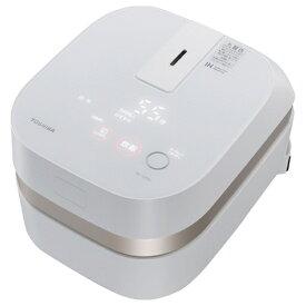 東芝 TOSHIBA RC-4ZWJ-W 炊飯器 グランホワイト [2.5合 /IH][おしゃれ RC4ZWJ]