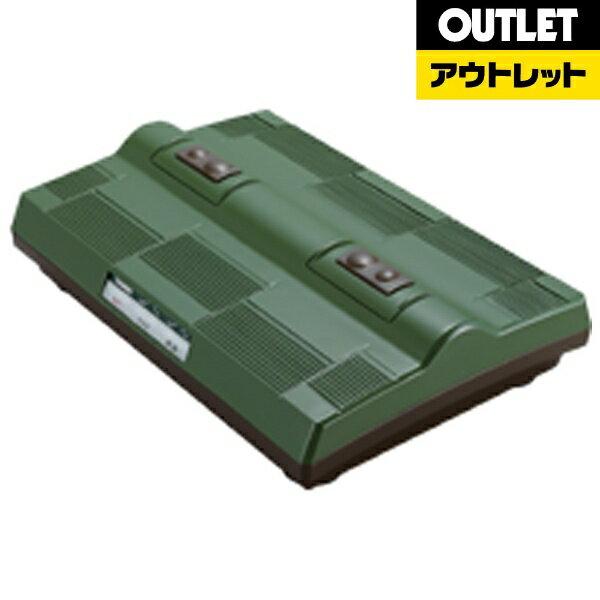 ツインバード 【アウトレット品】タタキ&振動フットマッサージャー EM-2563GR グリーン [EM2563GR]