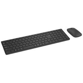 マイクロソフト Microsoft 【タブレット対応】ワイヤレスキーボード[Bluetooth4.0/Win]&マウス Designer Bluetooth Desktop (109キー・ブラック) 7N9-00023[7N900023]