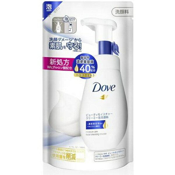 ユニリーバJCM Unilever Dove(ダヴ)ビューティモイスチャークリーミー泡洗顔料(140ml)つめかえ用[泡洗顔]