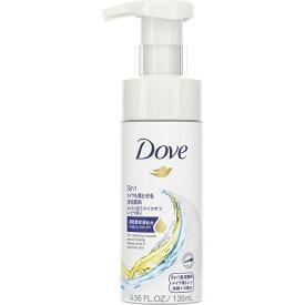 ユニリーバJCM Unilever Dove(ダヴ) 3in1メイクも落とせる泡洗顔料(135ml)[泡洗顔]【wtcool】