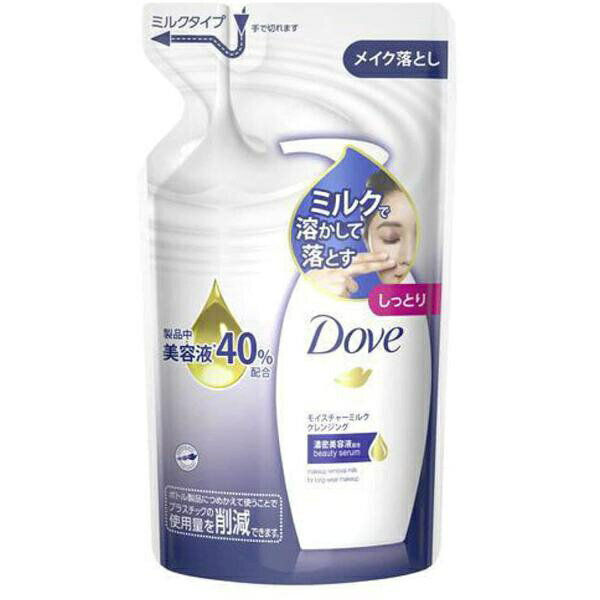 ユニリーバJCM Unilever Dove(ダヴ) モイスチャーミルク クレンジング つめかえ用(180ml)〔クレンジング〕