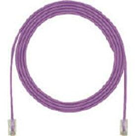 パンドウイット PANDUIT カテゴリ5E細径パッチコード 3m 紫 UTP28CH3MVL