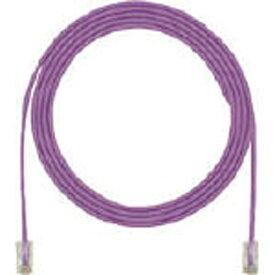 パンドウイット PANDUIT カテゴリ6細径パッチコード 5m 紫 UTP28SP5MVL