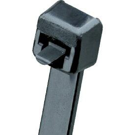 パンドウイット PANDUIT リリースタイ 取り外し可能ナイロン結束バンド 耐候性黒 PRT3SC0 (1袋100本)
