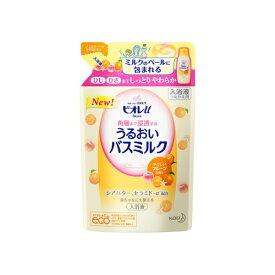 花王 Kao Biore(ビオレ)ビオレu 角層まで浸透する バスミルク フルーツの香り(つめかえ用)480ml [入浴剤]【rb_pcp】