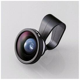 エレコム ELECOM セルカレンズ 0.4倍広角レンズ スーパーワイド(シルバー) PSL04SV