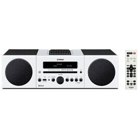 ヤマハ YAMAHA 【ワイドFM対応】Bluetooth対応 ミニコンポ(ホワイト) MCR-B043 W[CDコンポ MCRB043W]
