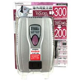 樫村 KASHIMURA 変圧器 (ダウントランス)(110-130V/220-240V⇒100V・容量300/200W) WT-74M[WT74M]