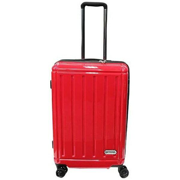 【送料無料】 OUTDOOR TSAロック搭載スーツケース (58L) OD-0692-60 レッド 【メーカー直送・代金引換不可・時間指定・返品不可】