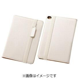 レイアウト rayout iPad mini 4用 ブックレザーケース 合皮 ホワイト RT-PM3LBC1/W[RTPM3LBC1W]