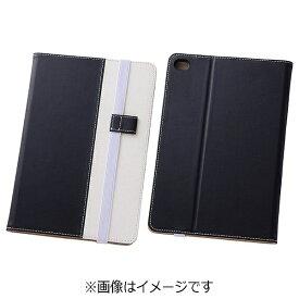 レイアウト rayout iPad mini 4用 バイカラー・ブックレザーケース 合皮 ブラック/ホワイト RT-PM3LC7/BW[RTPM3LC7BW]