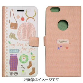 ROA ロア iPhone 6s/6用 手帳型 Winter Daily Diary Girls Diary Happymori HM6636iP6S