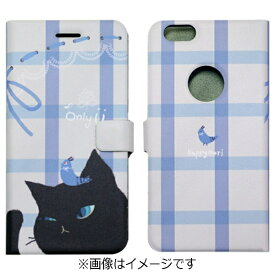 ROA ロア iPhone 6s/6用 手帳型 Cat Couple Diary ブラック Happymori HM6639iP6S