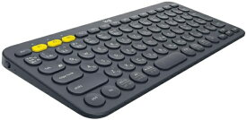 ロジクール Logicool K380BK マルチデバイスキーボード ブラック [Bluetooth /ワイヤレス][K380BK]
