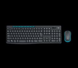 ロジクール Logicool MK275 ワイヤレスキーボード・マウス Wireless Combo ブラック [USB /ワイヤレス ][MK275]
