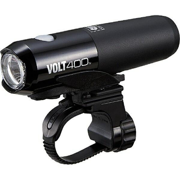 キャットアイ CATEYE USB充電式LEDライト VOLT400(ブラック) HL-EL461RC[HLEL461RC]