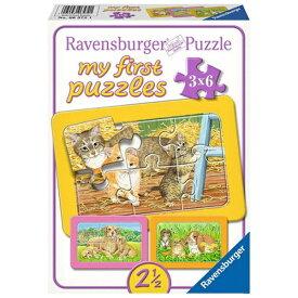 カワダ KAWADA my first puzzles かわいいペット