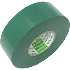 日東 Nitto ビニールテープNo.21 19mm×10m 緑 10巻入り 2110GN《※画像はイメージです。実際の商品とは異なります》