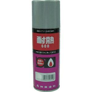 シントーファミリー SHINTO FAMILY 耐熱用スプレー 黒 300ML 26210.3《※画像はイメージです。実際の商品とは異なります》