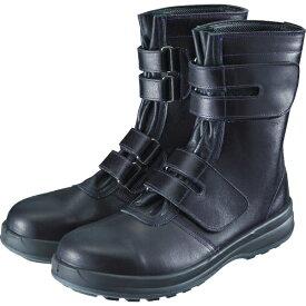 シモン Simon 安全靴 マジック式 8538黒 25.0cm 8538N25.0
