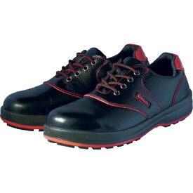 シモン Simon 安全靴 短靴 SL11-R黒/赤 25.0cm SL11R25.0