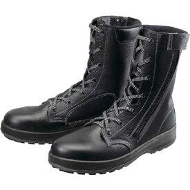 シモン Simon 安全靴 長編上靴 WS33黒C付 25.0cm WS33C25.0