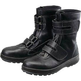 シモン Simon 安全靴 長編上靴 マジック WS38黒 25.5cm WS3825.5