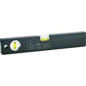エビス EBiSU 磁石付ベーシックレベルブラック300mm ブラック/グリーン ED30MB